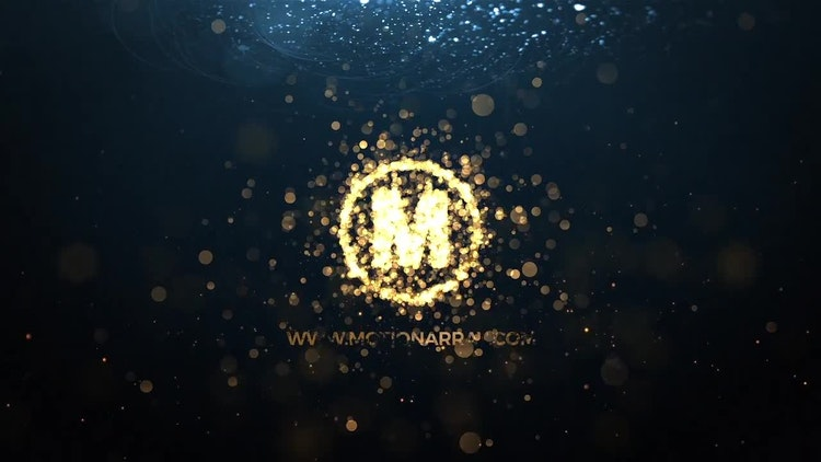 how to create particle logo