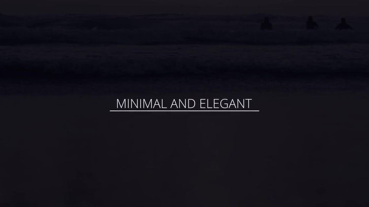 Elegant White Titles: After Effects Templates