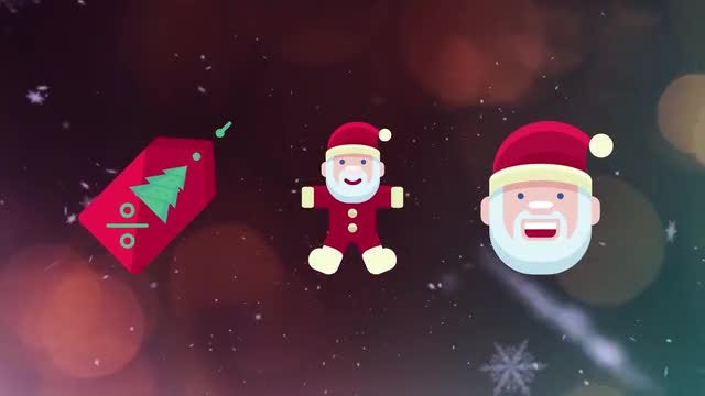 50 Christmas Icons: After Effects Templates