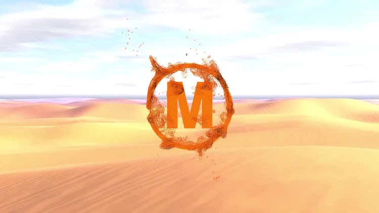 Sand Logo: After Effects Templates