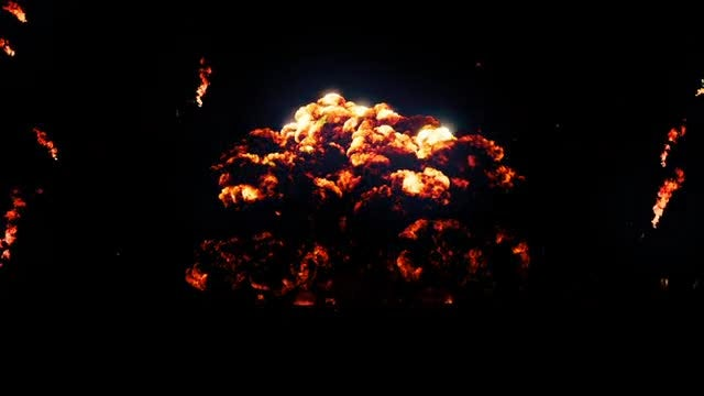 Realistic Explosion: Stock Motion Graphics