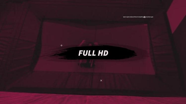 Sports Opener: Premiere Pro Templates