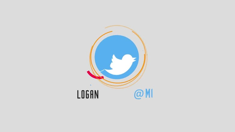 3 Social Media Logo Reveal v1: After Effects Templates