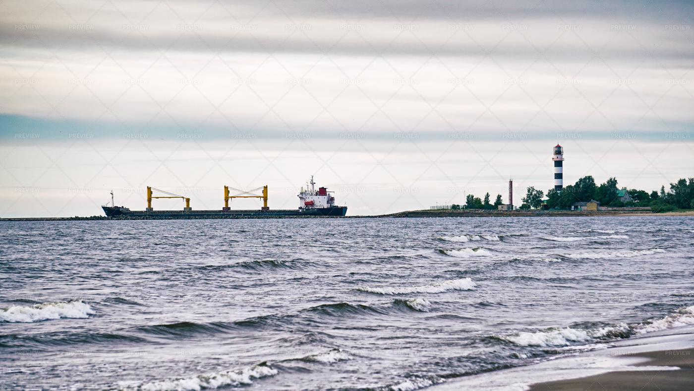 Riga Seaside: Stock Photos