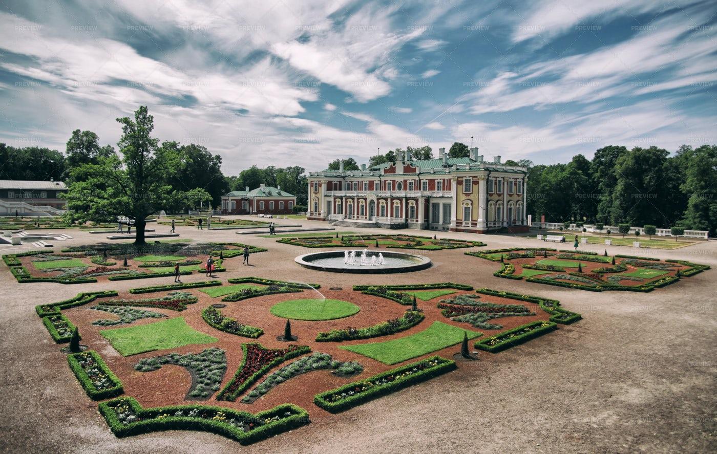 Kadriorg Palace, Tallinn: Stock Photos