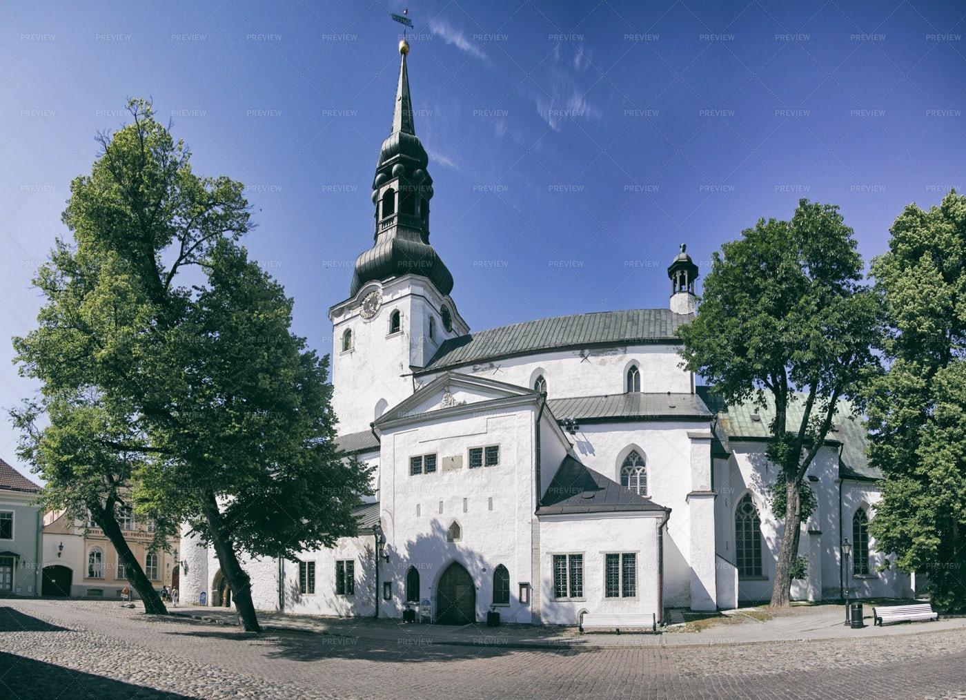 Church In Tallinn: Stock Photos
