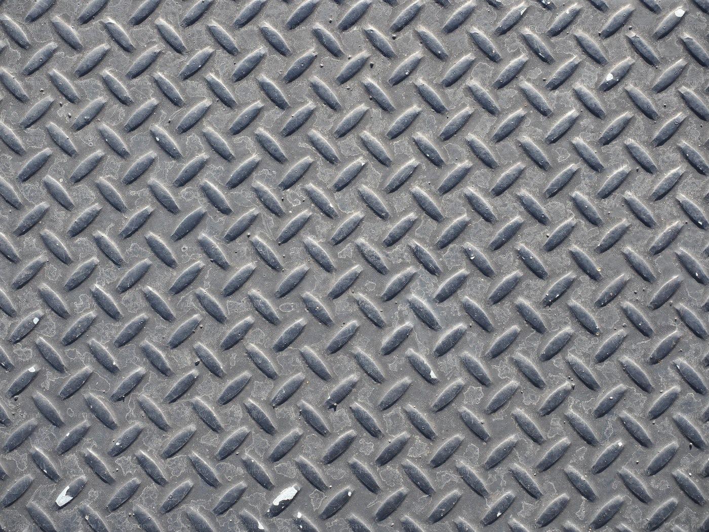 Non-Slip Steel Pattern: Stock Photos