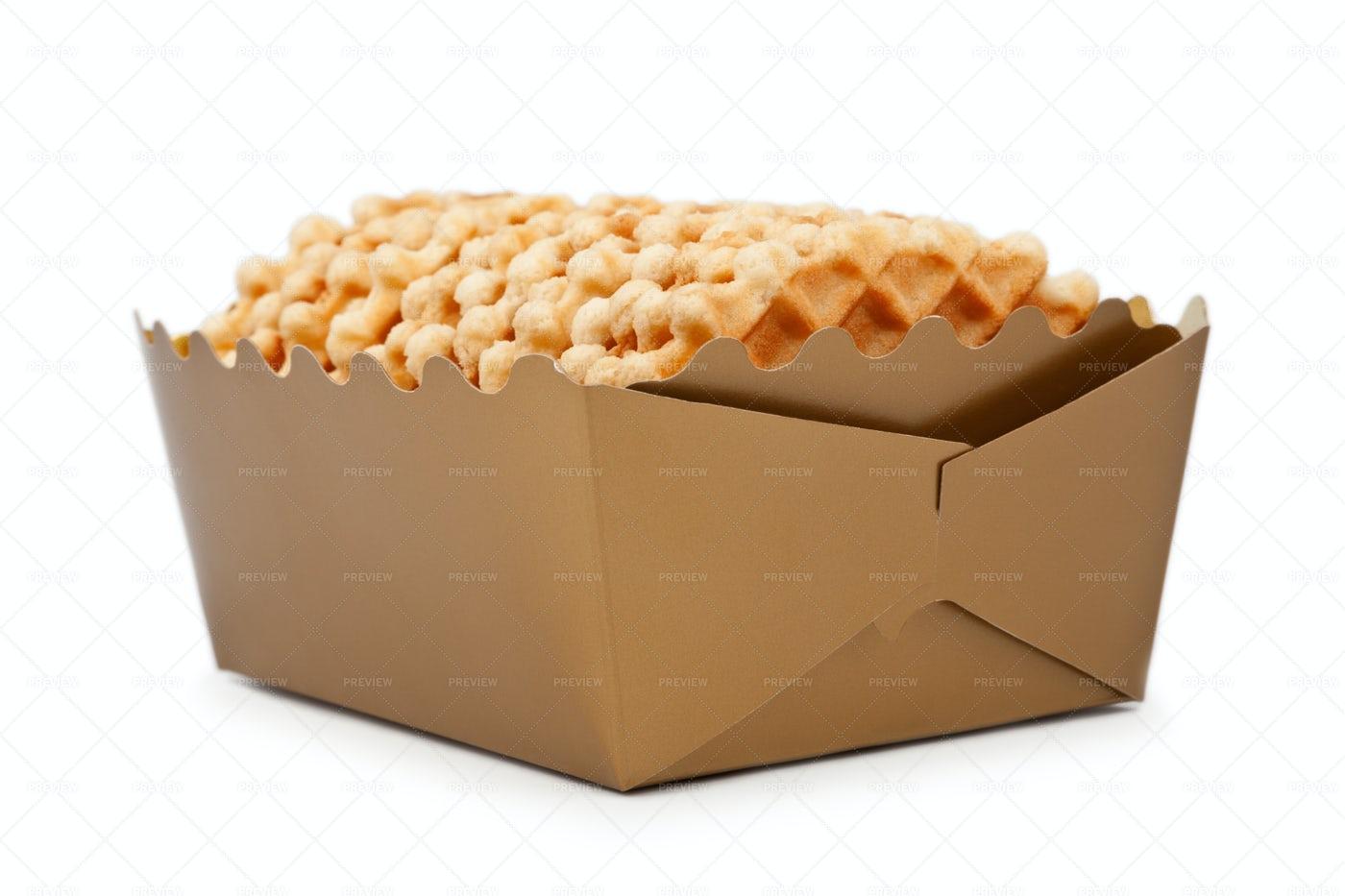 Box Of Waffles: Stock Photos