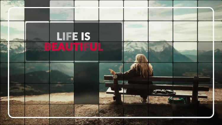 Beauty Mosaic - Elegant Slideshow: After Effects Templates