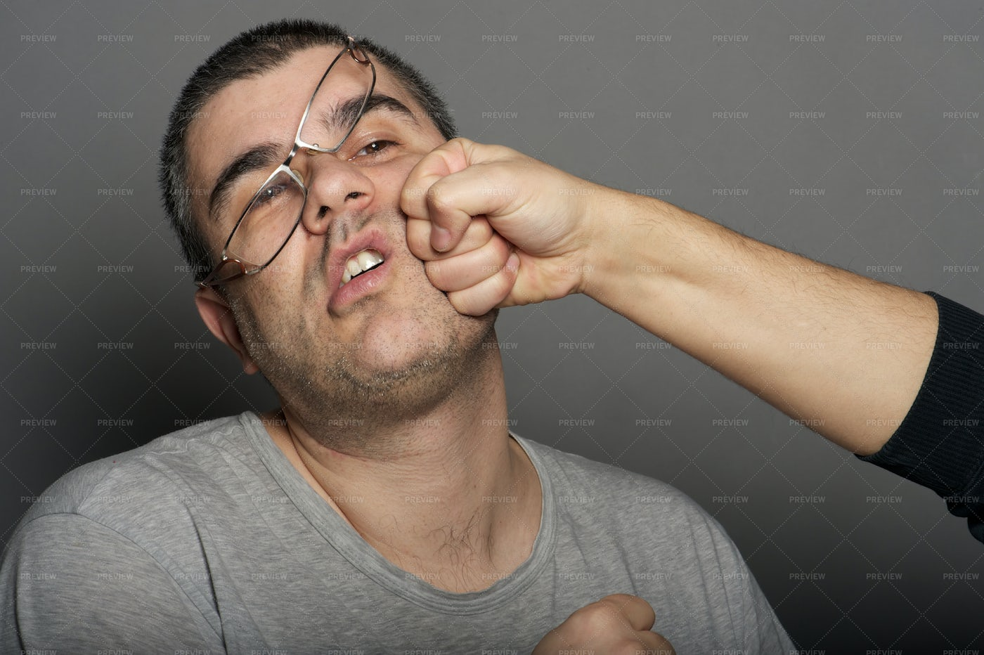Punch In The Face: Stock Photos