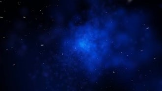 Fly Through Space 4K: Motion Graphics