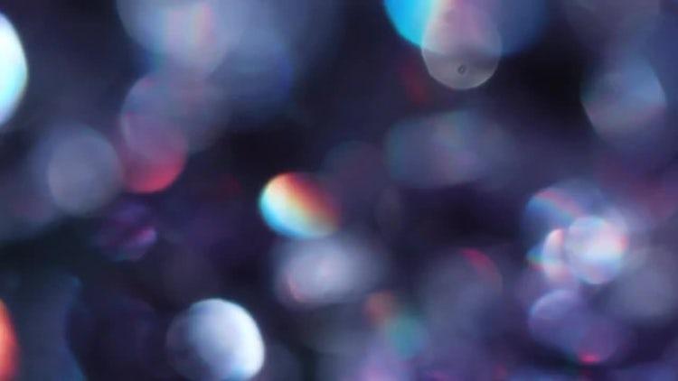 Violete Circles Bokeh: Stock Video