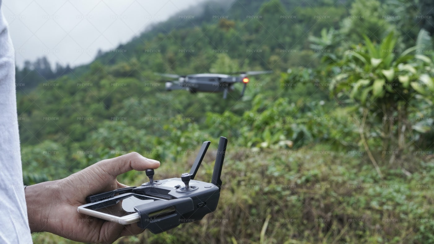 Flying Drone: Stock Photos