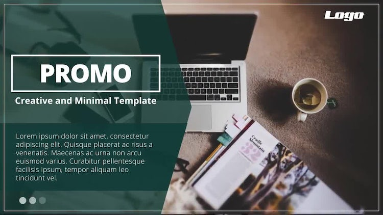 Minimal Promo Presentation: After Effects Templates