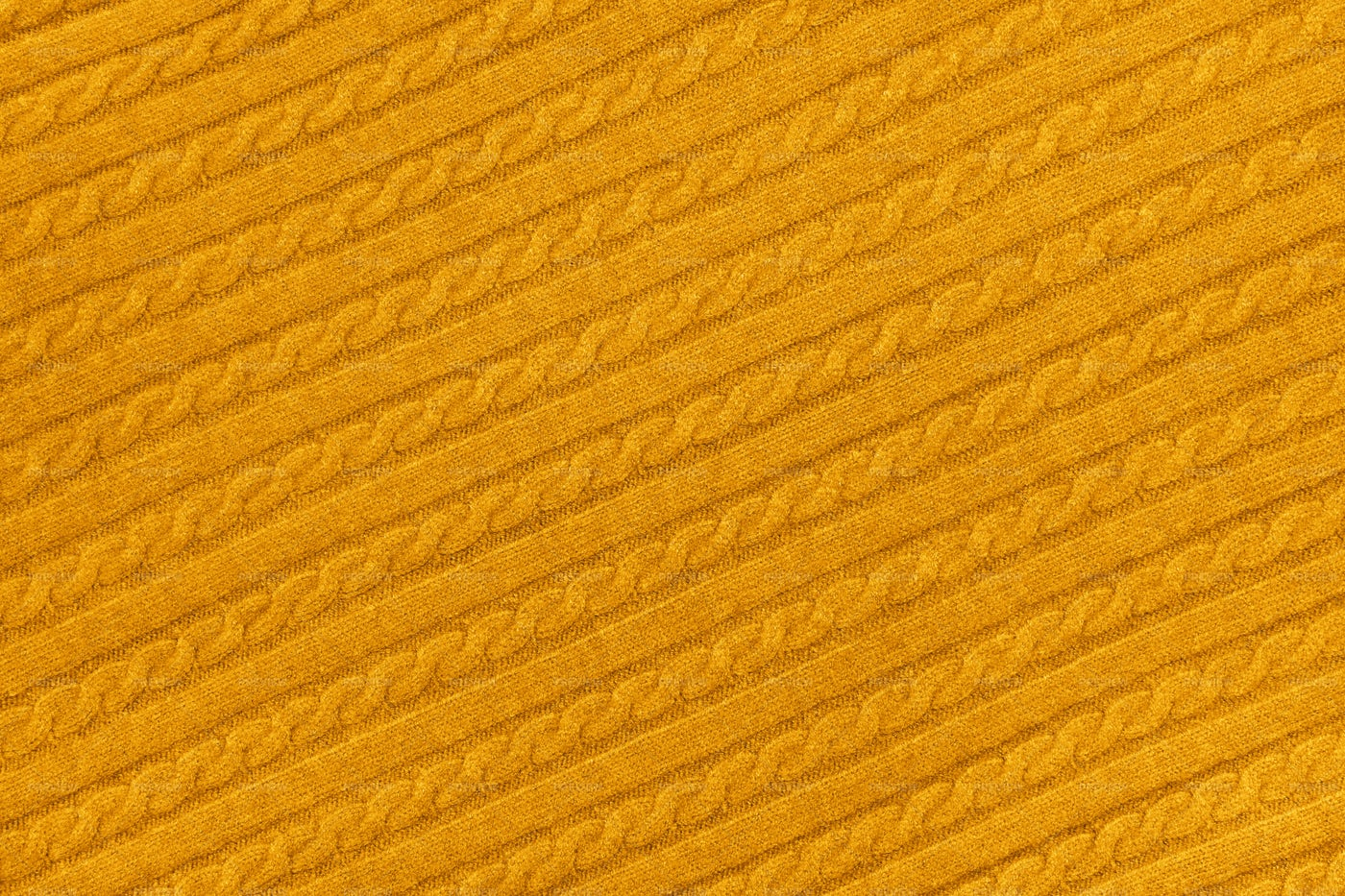 Yellow Knitted Wool Fabric: Stock Photos
