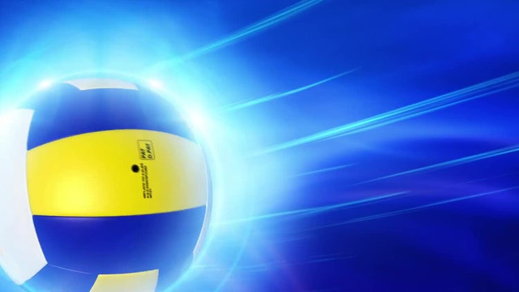 Volleyball Background: Motion Graphics