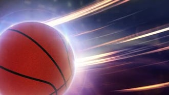 Basketball Background: Stock Motion Graphics
