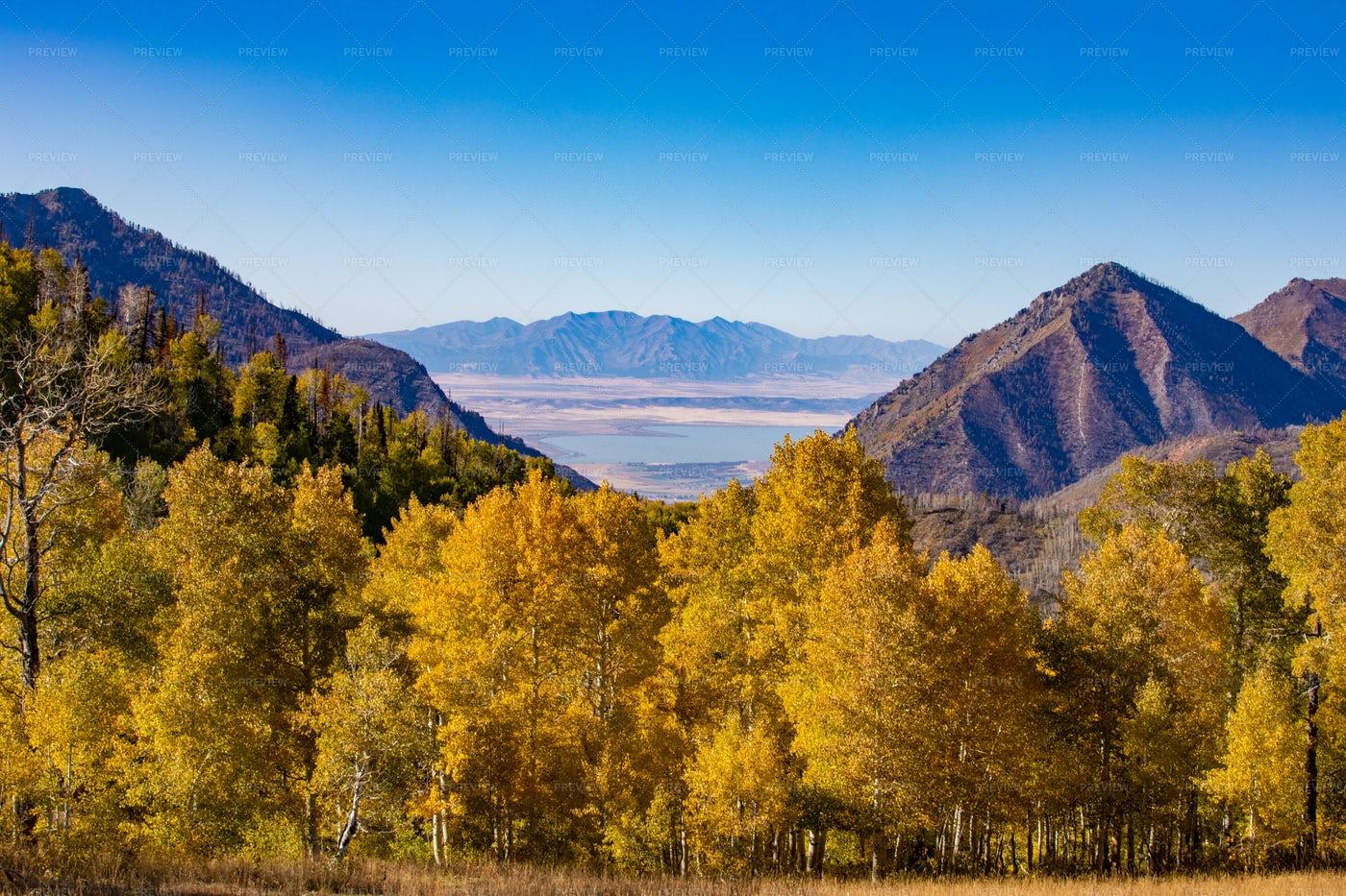 Utah Mountain Landscape: Stock Photos