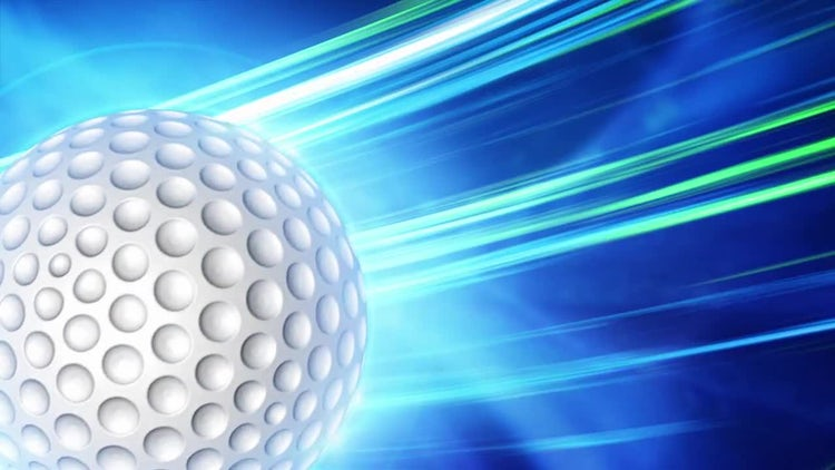 Golf Background: Motion Graphics