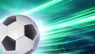 Soccer Background: Stock Motion Graphics
