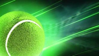 Tennis Background: Motion Graphics