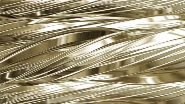 Twisted Gold: Stock Motion Graphics