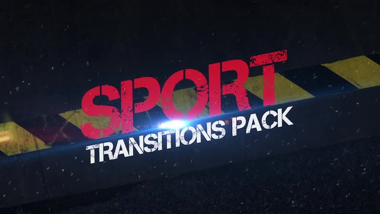 Sport Transitions Pack: Stock Motion Graphics