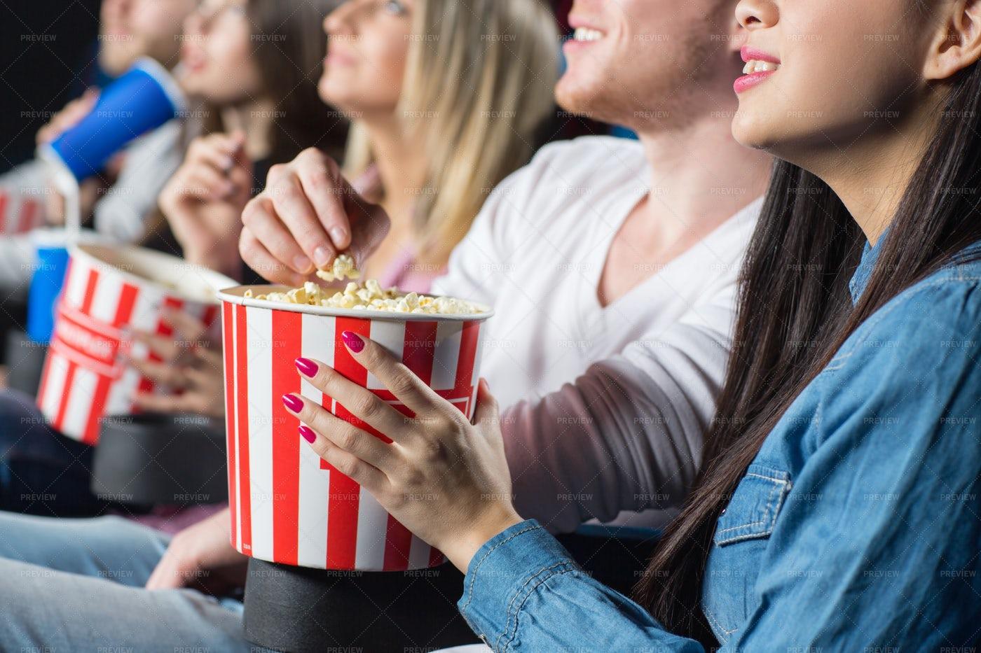 Movie Popcorn: Stock Photos