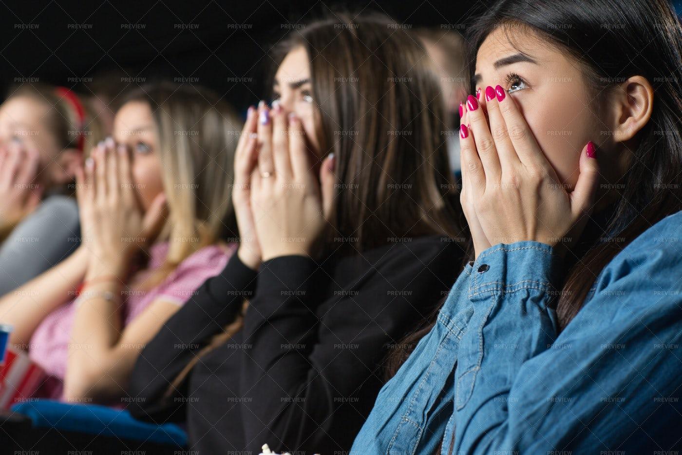 A Shocking Movie: Stock Photos