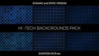 Hi-Tech Backgrounds Pack: Motion Graphics