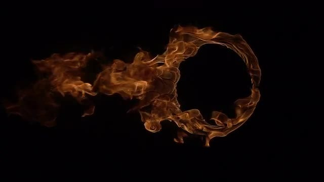 Ring of Fire: Stock Video