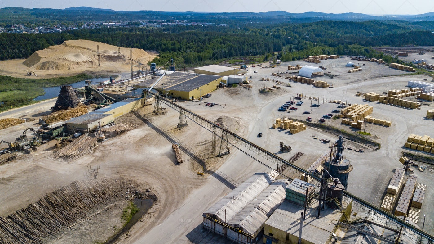 Wood Processing Complex: Stock Photos