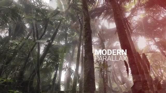 Modern Parallax Intro: Premiere Pro Templates