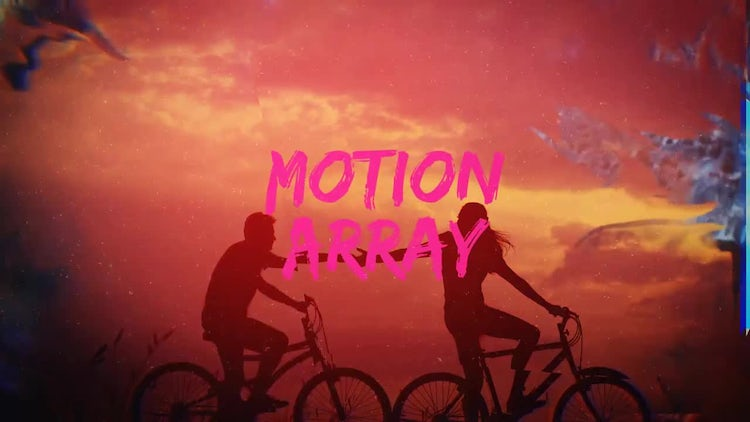 Ink Dynamic Slideshow: After Effects Templates