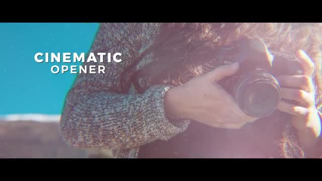 Cinematic Opener Slideshow: After Effects Templates