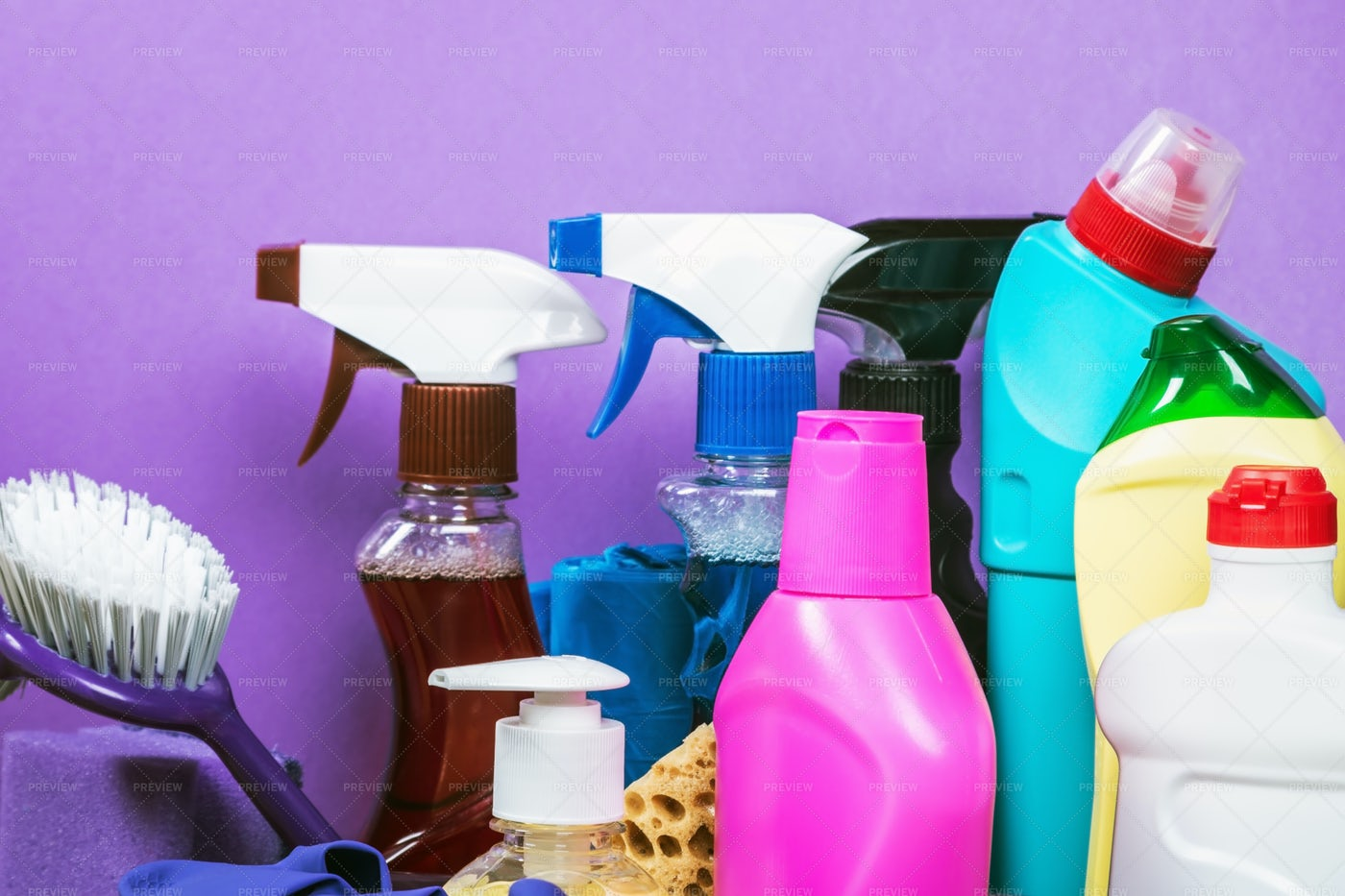 Products For Cleaning: Stock Photos