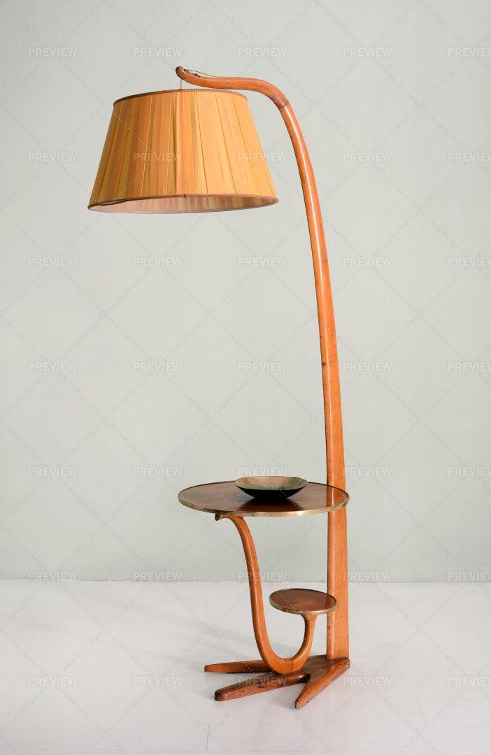 Vintage Floor Lamp: Stock Photos