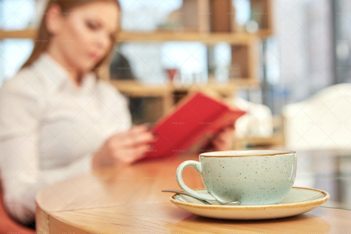 Coffee On A Shop: Stock Photos