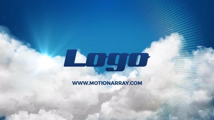 Light Clouds Logo Reveal: Premiere Pro Templates