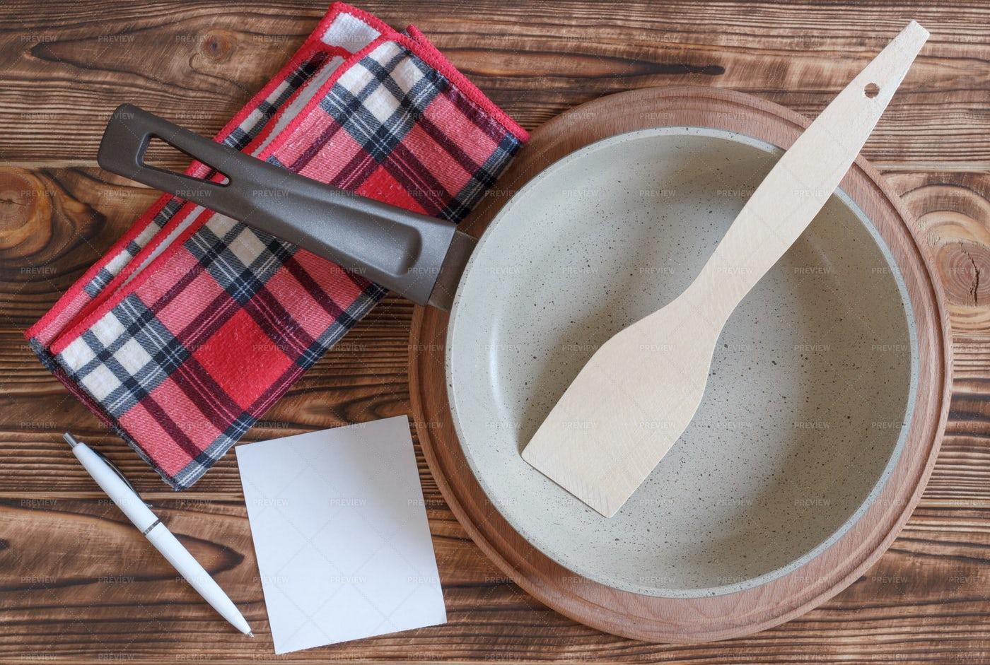 Food Cooking Set: Stock Photos