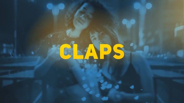 Colorful Claps Opener: After Effects Templates