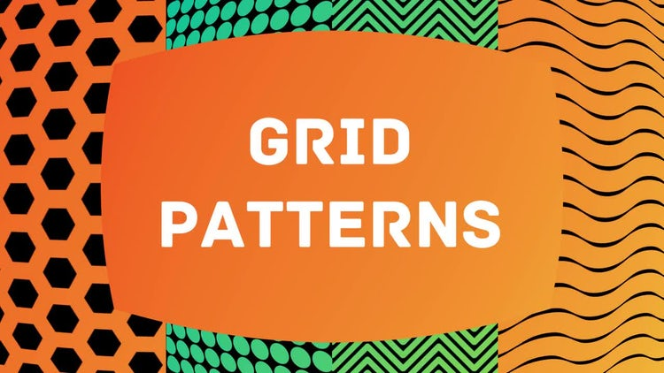 Grid patterns: Motion Graphics Templates