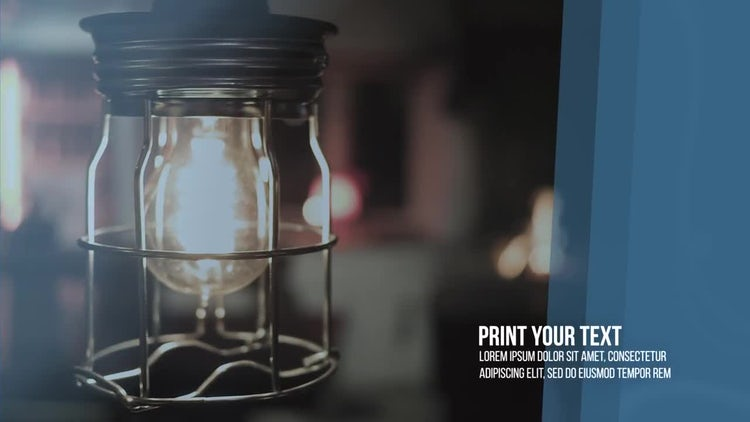 Commercial Industrial Slideshow: After Effects Templates