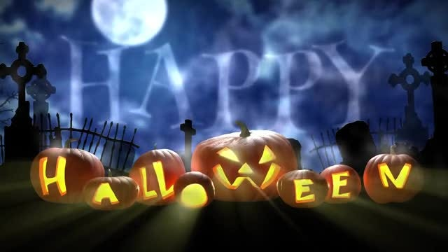 Halloween Pumpkins: Stock Motion Graphics