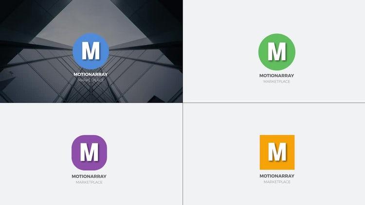 Minimal Burst Logo: Premiere Pro Templates