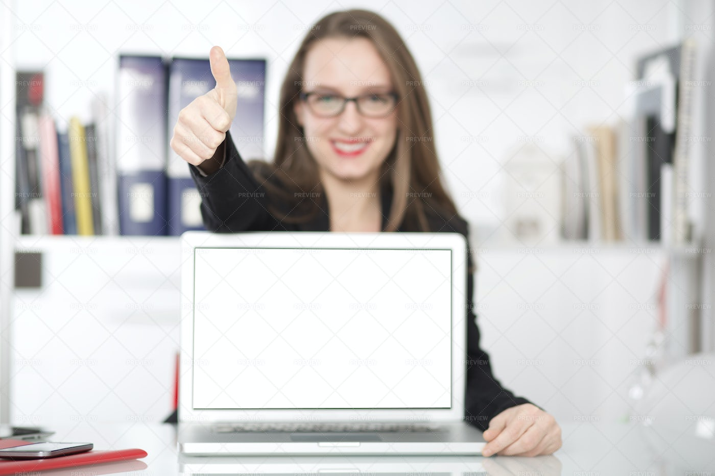 Worker Gives The Thumbs Up: Stock Photos