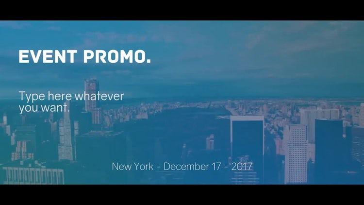 Event Promo: Premiere Pro Templates