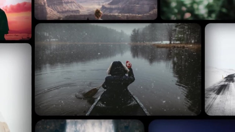 Gallery Wall Slideshow: Premiere Pro Templates
