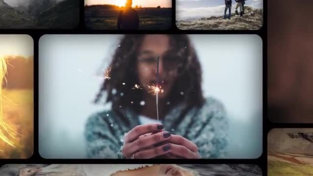 Gallery Wall Slideshow: After Effects Templates