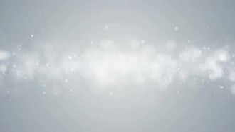 Particles White Background: Motion Graphics